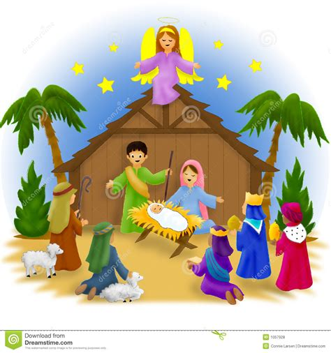 search results for christmas nativity scene children