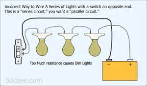 lights series circuit simple home electrical wiring diagrams sodzee