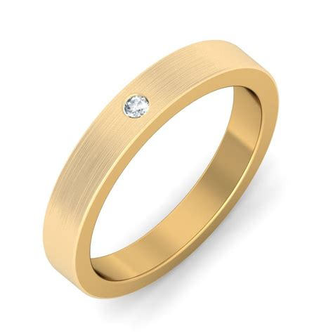 mens wedding ring gold mens wedding ring band in yellow gold jewelocean