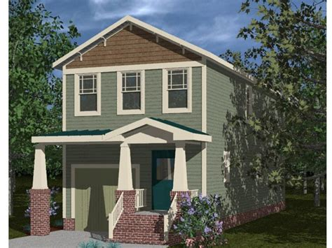 home plans for narrow lots craftsman style narrow lot house plans craftsman style
