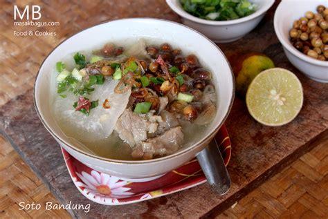 membuat soto ayam bandung resep dan cara memasak soto bandung enak masakbagus com