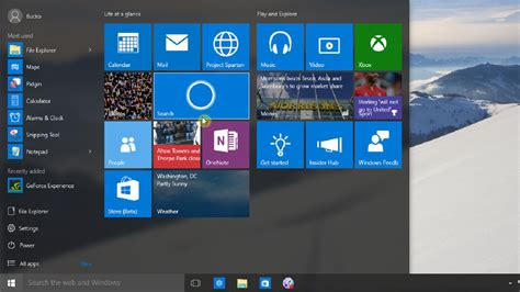 windows 10 sdk tutorial windows 10 tutorial 3 the new start menu top windows