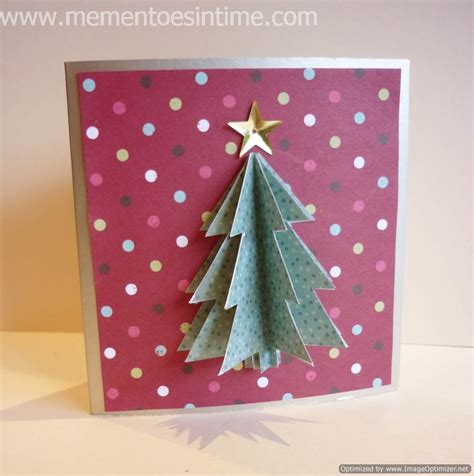 3d tree card template card ideas mementoes in time