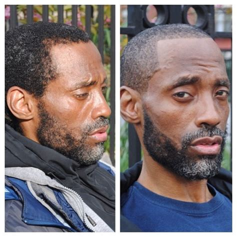 homeless haircuts before and after 30 year old spends every sunday giving homeless people the