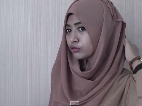 tutorial jilbab pashmina ceruti tutorial jilbab sifon ceruti