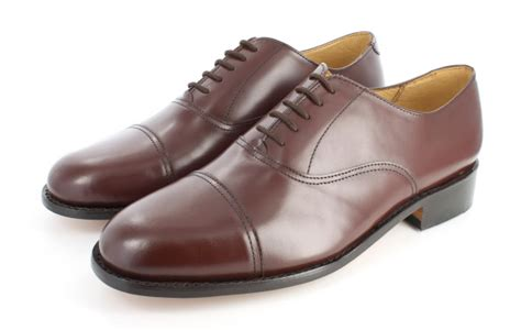 brown oxfords shoes mens handmade brown oxford shoes with leather sole