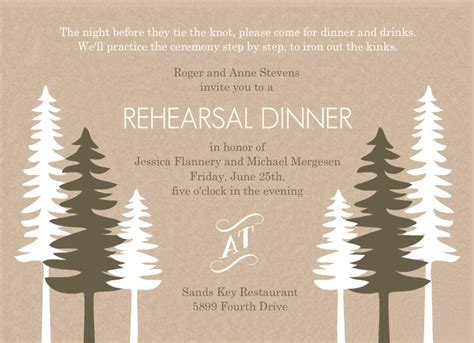casual wedding rehearsal dinner invitations rehearsal dinner invitation wording casual cimvitation