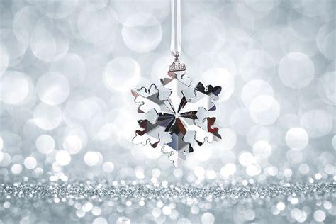 snow flake ornaments swarovski 2016 annual edition ornament snowflake 25th