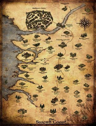 baldur s gate map world map baldur s gate wiki fandom powered by wikia