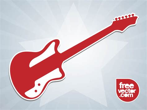 printable guitar stickers electric guitar sticker