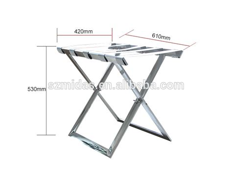 Rack Size by Folding Luggage Rack For Hotels Size View Luggage Rack