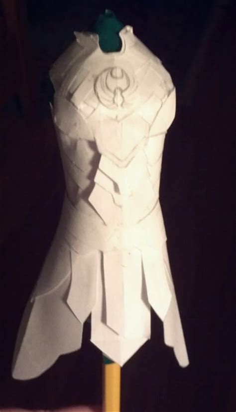 How To Make A Paper Armor - paper nightingale armor by aretenike on deviantart