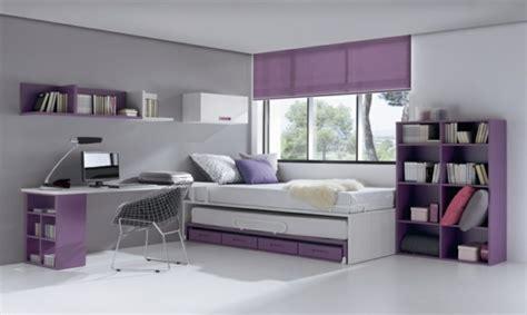 Chambre Violet Et Blanc Pour Ados by D 233 Coration Chambre Ado Moderne En Quelques Bonnes Id 233 Es