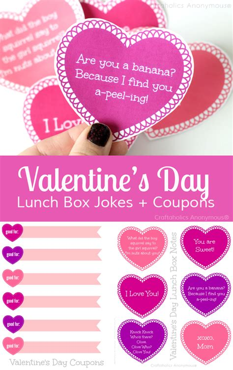 valentines day jokes for valentines day gift for valentines day gifts for books craftaholics anonymous 174 free hearts printable and