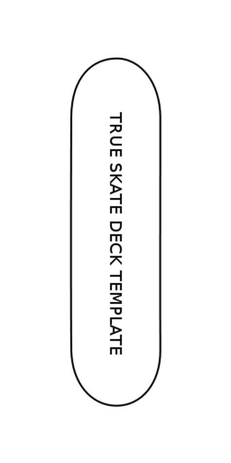 skateboard deck template trueskate