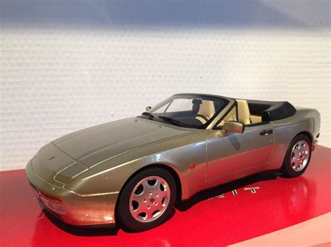 gold porsche convertible gt spirit scale 1 18 porsche 944 s2 convertible gold