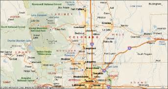map of front range colorado roofing colorado s front range