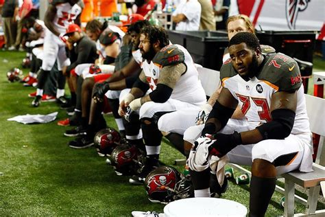nfl bench buccaneers vs falcons unit game grades pewter report