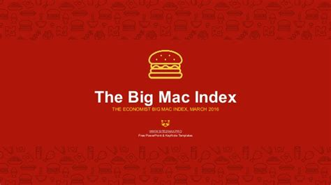 mcdonalds powerpoint template bigmac index powerpoint template free