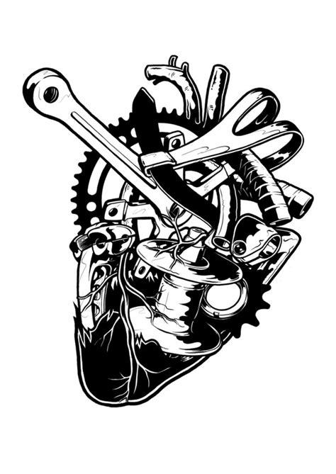 buddy top tattoo designs for bikers motor bike themes