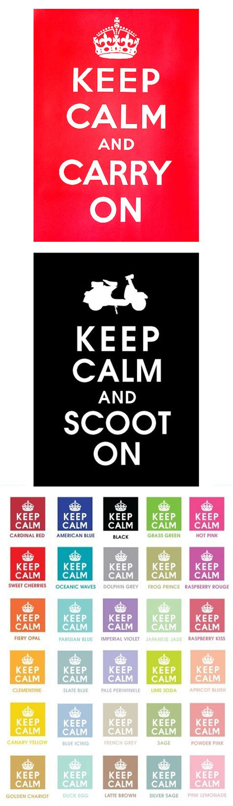 Keep Calm And Scoot On scooter swag part 53