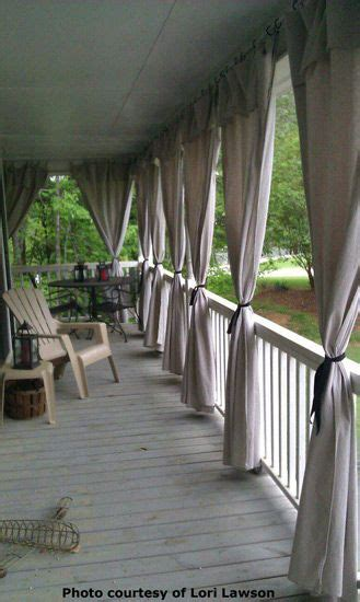 porch with curtains front porch curtains on pinterest