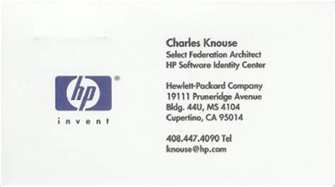 hp templates for business cards hp business card best business cards