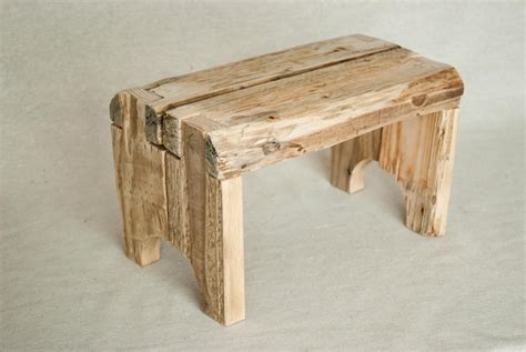 rustic bed step stool rustic step stool made from reclaimed recycled wood