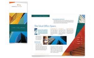 Commercial Real Estate Property Brochure Template Design