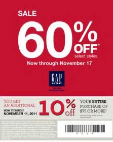 10 percent gap outlet printable coupon print