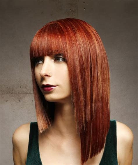 Formal Hairstyles For Medium Hair With Bangs by Medium Formal Asymmetrical Hairstyle With Blunt