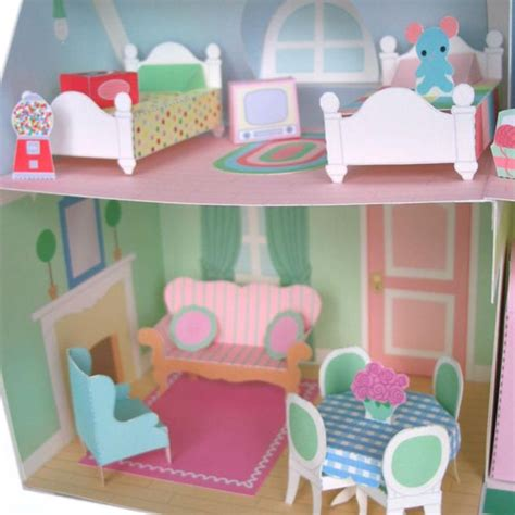 Sty Cat Papercraft - 88 best images about dollhouse on house