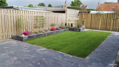 Tuin En Gras by Tuin Met Gras En Tegels Dv09 Belbin Info