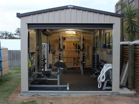 fitness ruimte in huis interieur inrichting