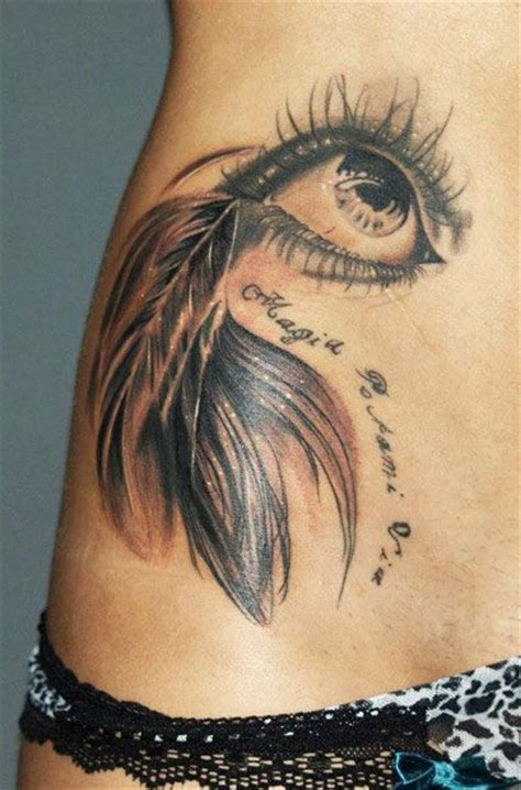 feather tattoo near eye lovely feather eye tattoo tattoomagz