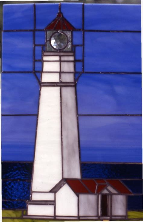 stained glass lighthouse l 94 best scenery seascapes lake views stained glass