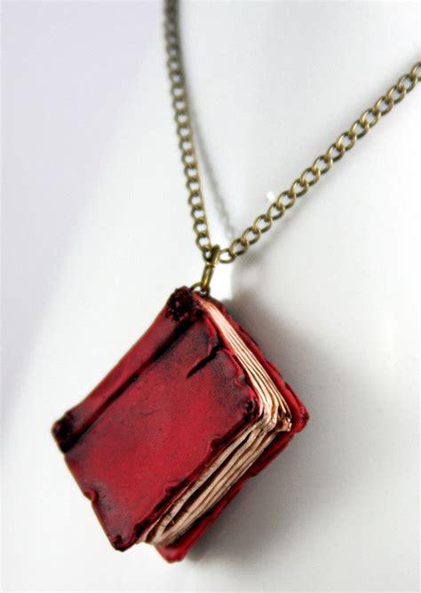 books on jewelry beloved book necklace by neverlandjewelry on deviantart
