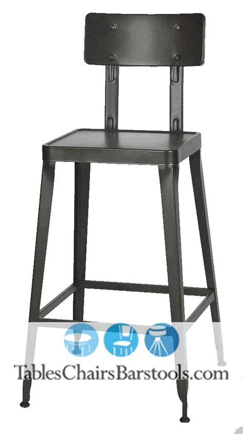 cafe bar stools simon steel cafe bar stool with antique rust finish bar restaurant furniture tables chairs