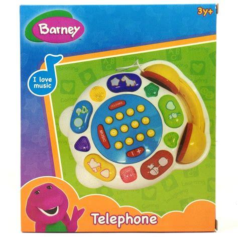 Nixnox Mainan Edukasi Anak Poster Suara Poster barney telephone happy toko mainan jual mainan anak