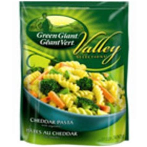 green giant valley selections cheddar pasta