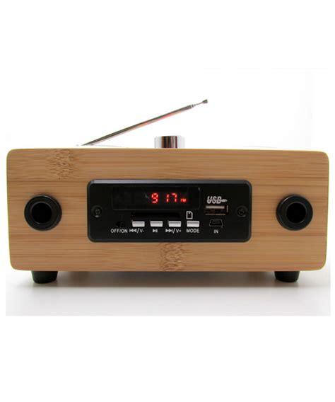 radio reciclable que tu m 250 sica suene incre 237 ble con esta radio de bamb 250