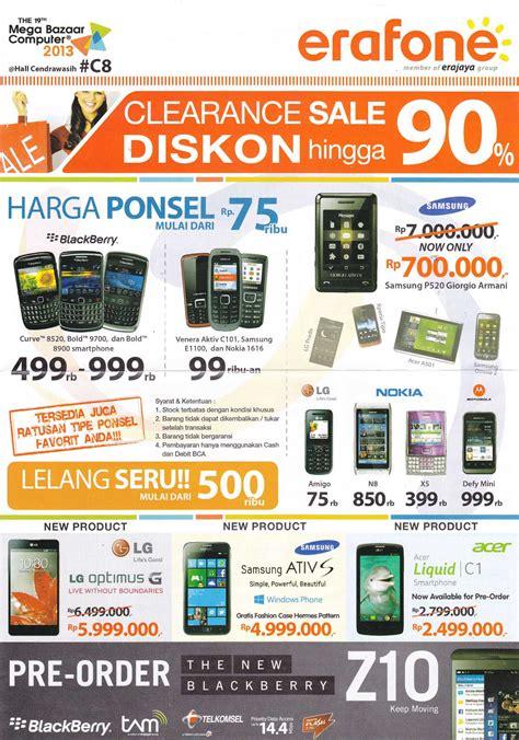 erafone jambu 2 daftar lengkap promo murah mega bazaar 2013 part 2