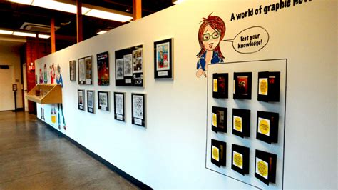 wall displays graphic novel class palo alto art center dani 232 le