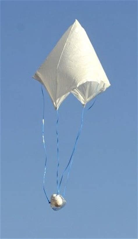 How To Make A Parachute Out Of Paper - surface area parachutes and the egg on