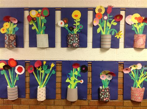 elementary school craft projects great idea for may flowers what is the history