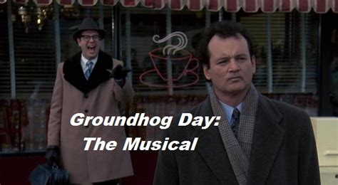 groundhog day west end groundhog day to become a musical markmeets
