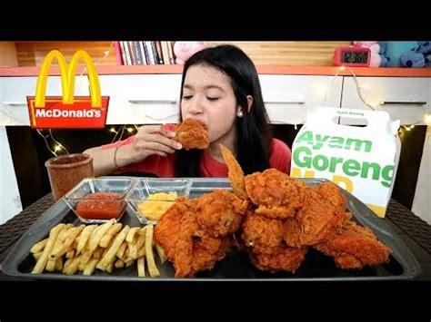 Mcd Spicy Chicken mukbang ayam spicy mcd spicy chicken