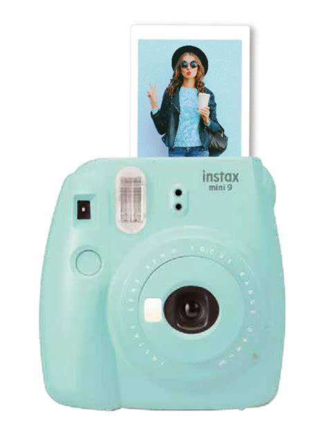 Fujifilm Kamera Instax Mini 9 Blue henrys fuji instax mini 9 blue