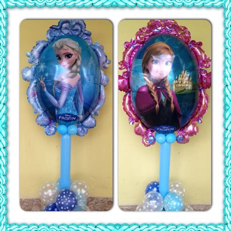arreglos con globos de frozen elsa and anna frozen balloons beautiful frozen balloons