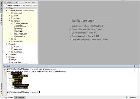 javascript date format npm node js npm installs dependencies in a wrong place